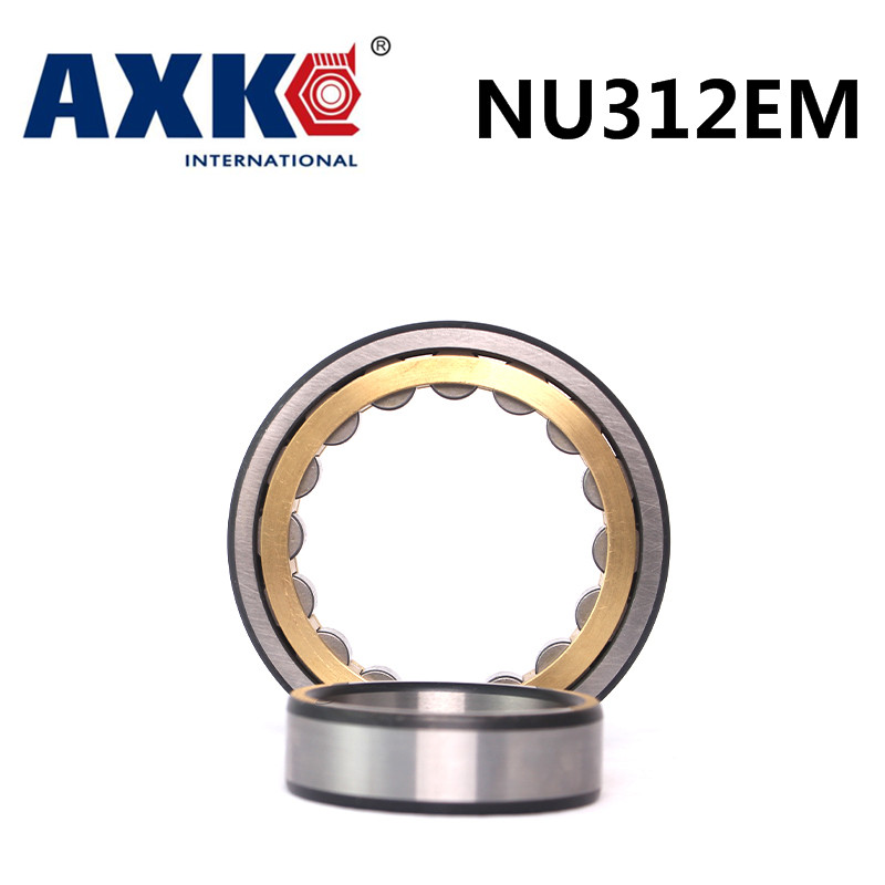 Axk Bearing Nu312em Cylindrical Roller Bearing 60*130*31mm mochu 22213 22213ca 22213ca w33 65x120x31 53513 53513hk spherical roller bearings self aligning cylindrical bore