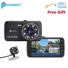 4 Zoll IPS Dual Lens Vorderen 1080 P Zurück 720 P Auto DVR mit Nachtsicht Dash Cams T800 Unterstützung LDWS FCWS Videoaufzeichnung