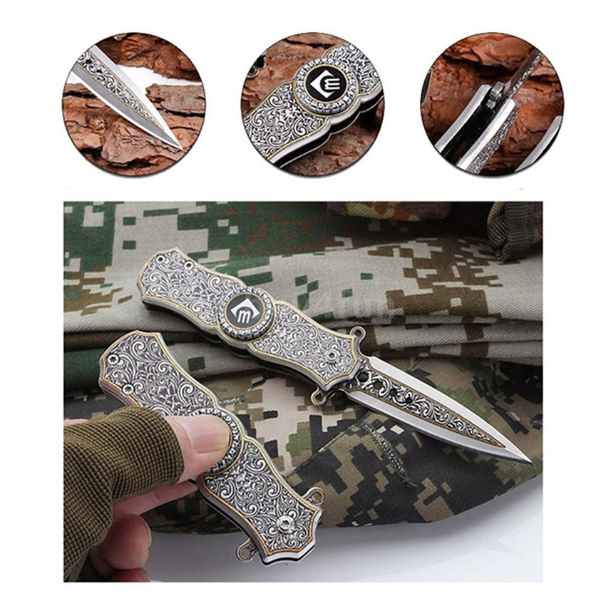 EDC Tools Outdoor Creative Hand Spinner 1PC Multi-Function Portable Folding Knife Spinner Gyro Toy Boy Gifts Fidget Spinner portable triangle finger gyro hand spinner multi color fingertip gyroscope creative toy fidget spinner for adhd relive stress