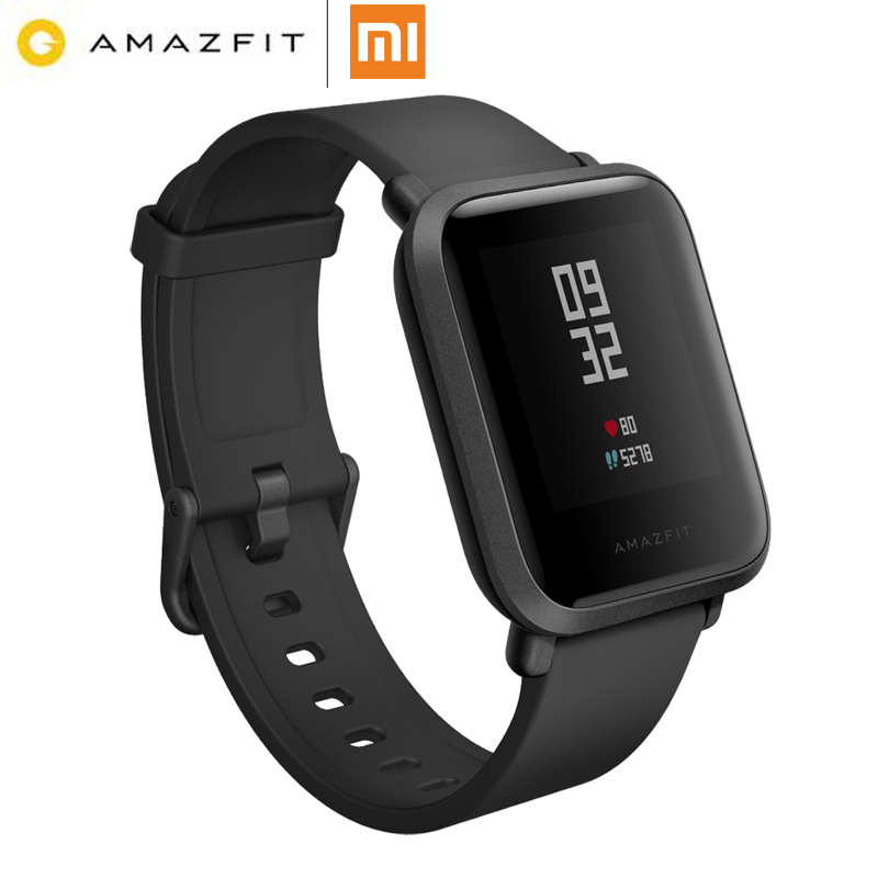 Anglès NOU Original Huami Amazfit Bip Bit Rellotge intel·ligent Mi Smart-Watch Fit Reflection Smartwatch IP68 impermeable per Xiaomi