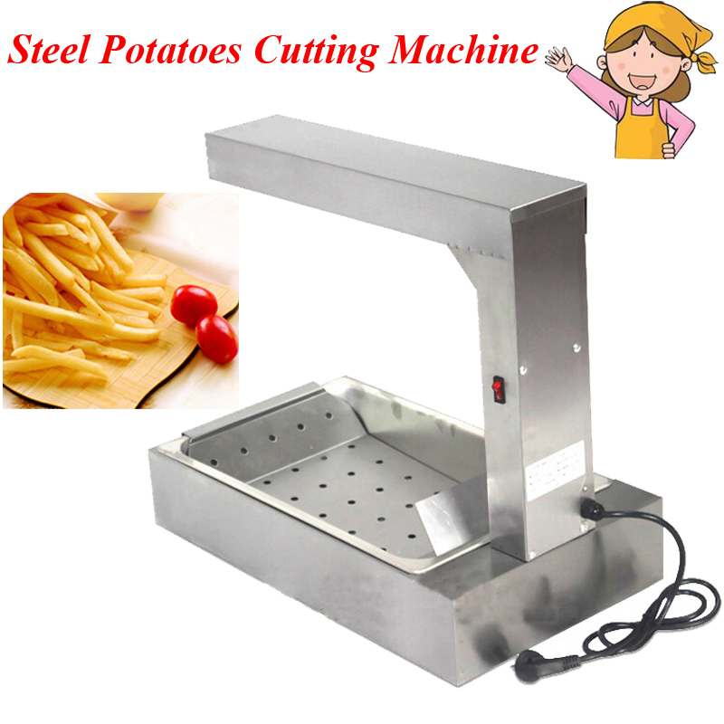 Steel Potatoes Cutting Machine Household Electric Machine for Radish Cucumber Taro Machine FY-620 cukyi household electric multi function cooker 220v stainless steel colorful stew cook steam machine 5 in 1