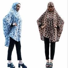 12 шт./лот) печатных хиджаб лайкра мусульманских женщин молитва одежды платье мусульманская одежда хиджаб Абая химар джилбаб QK034