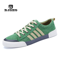 CBJSHO New Spring Summer Men Shoe Breathable Casual Shoes Mens Canvas Shoes for Lace Up Brand Fashion Flat Male Shoe