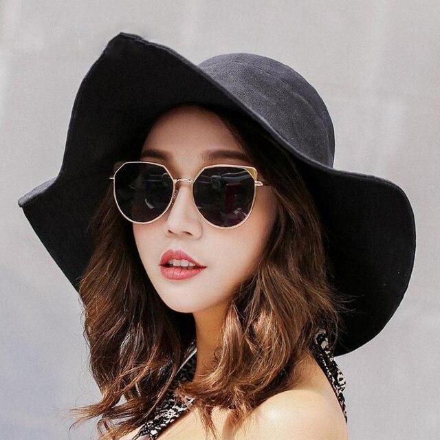 chapeau grand femme