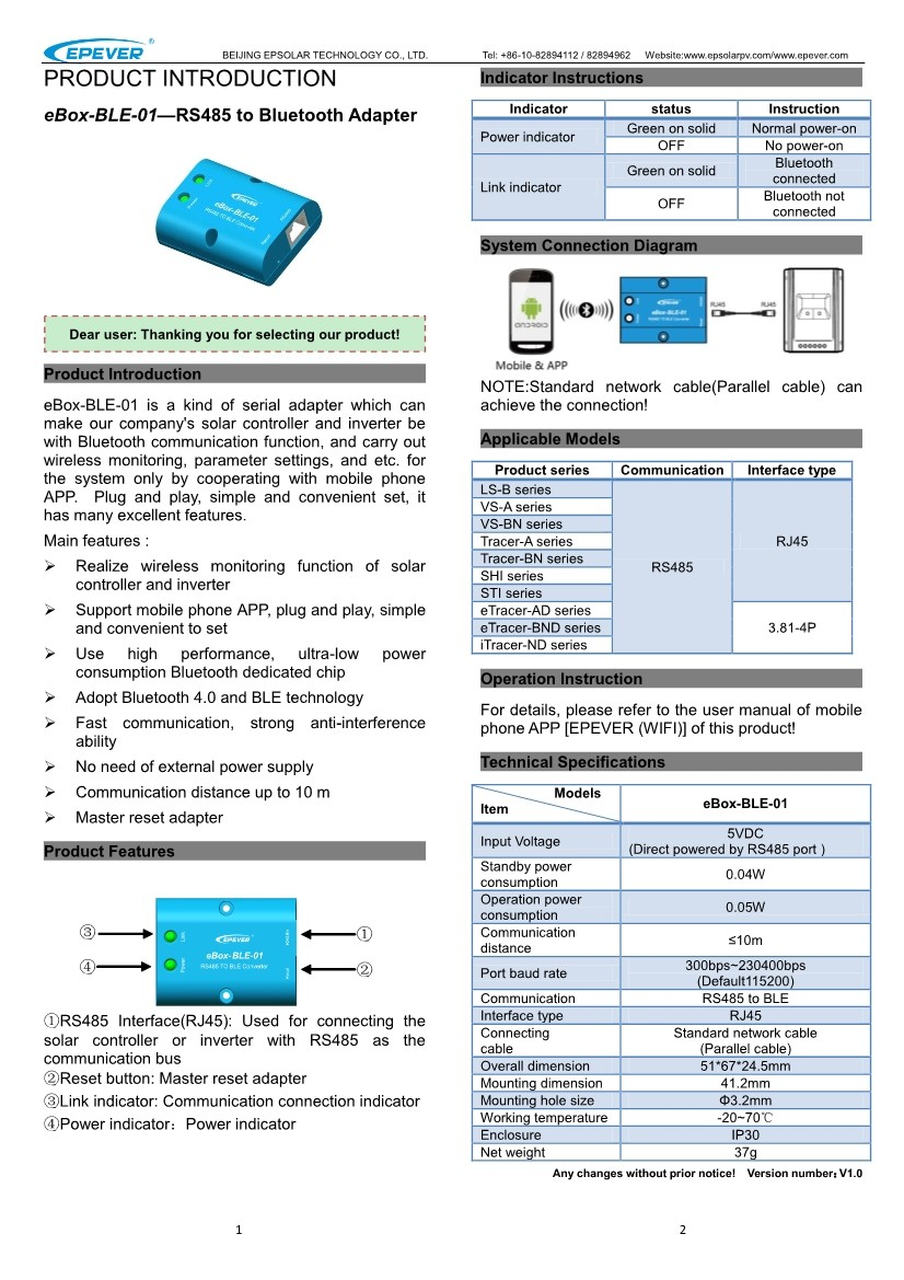 ep série controlador ls1024b 10a 10 ampères