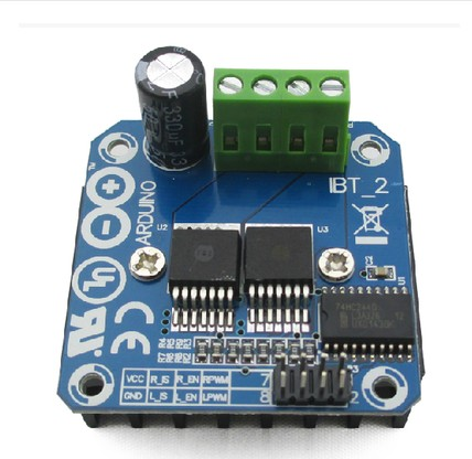 High power intelligent vehicle motor drive module 43A BTS7960 current limiting control semiconductor refrigeration drive thb6128 stepper motor drive control module 2a current 128 subdivision drive board 42 57