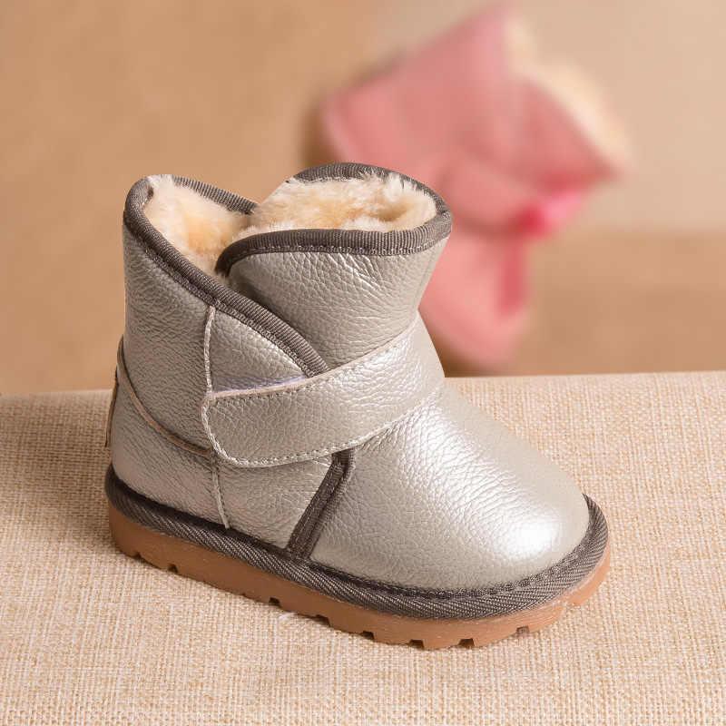 Phynier Winter 1 3 5 year old children snow boots warm men