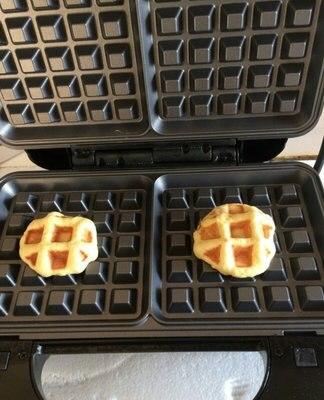 Máquina eléctrica doméstica para hacer waffles, sandwichera, máquina de sándwich ajustable con temperatura, 220 V, SW-93 de herramientas para electrodomésticos de cocina - 5