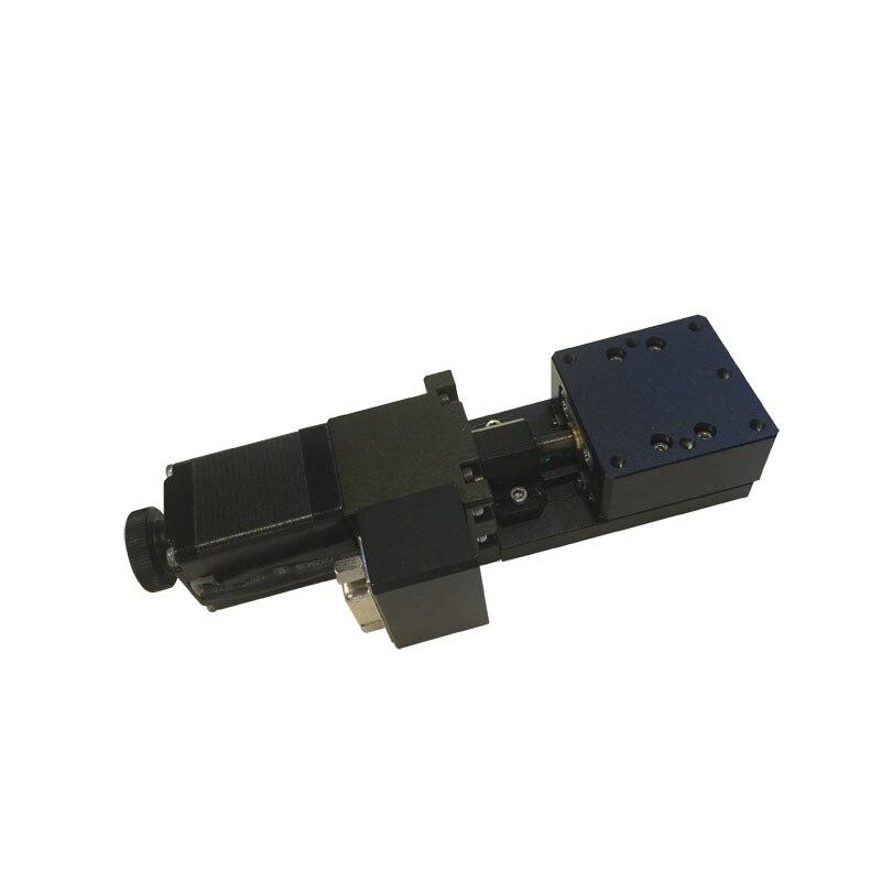 PP110-10(40)/(60) High Precision Motorized Linear Stage, Electric Translating Platform, +/- 10mm Travel  цены
