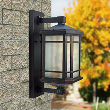 Henlet outdoor indoor waterproof wall 0214 WT Chinese Courtyard Villa balcony door wall light