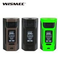Оригинальный 200 Вт WISMEC Reuleaux RX2 20700 TC MOD W/1,3 дюймовый большой Экран без 18650 Батарея электронная сигарета коробка Mod vs RX GEN3/RX200S