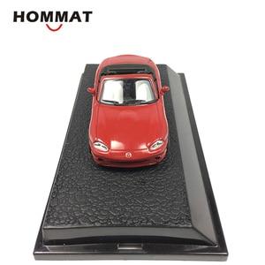 Image 4 - Hommat 1:43 Mazda MX 5 Chuyển Đổi Thể Thao Xe Ô Tô Mô Hình HợP Kim Đế Hít Đồ Chơi Xe Mô Hình Xe Ô Tô Collectable Bộ Sưu Tập Tặng Đồ Chơi Cho Bé Trai