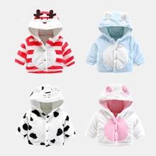 Hot Sale Baby Girls Winter Coats Gaueey Cute Style Kids Winter Jackets Cotton Padded Baby Winter Coats Newborn Children Clothes
