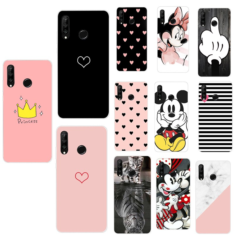 Cover For Huawei P30 Lite Case Funda Silicon Coque For Huawei Mate30 Mate 30 P30 Pro Lite P Smart 2019 Case Phone accessories