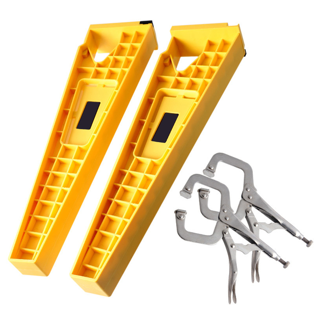 Drawer Slide Jig Mounting Tool Cabinet Hardware Install Guide Tool