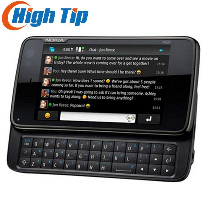 Nokia N900 original unlocked phone Support QWERTY Russian keyboard GSM 3G GPS WIFI 5MP 32GB memory
