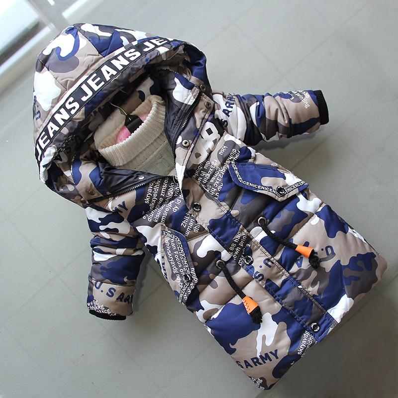 BibiCola 2018 children winter coats new fashion casual long jackaets boysthicken warm coats kids coartoon sport hoodie coats цена
