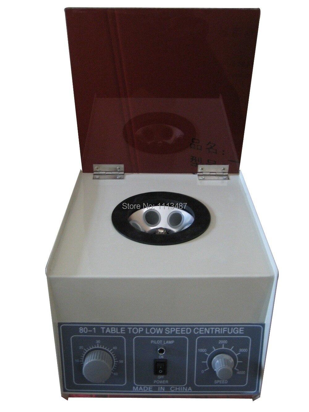 Centrifugeuse de laboratoire de centrifugeuse de laboratoire médical électrique de bureau 80-1 4000 t/mn CE 6x20 ml