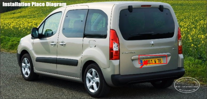 Peugeot-Partner-back-license-plate-lamp