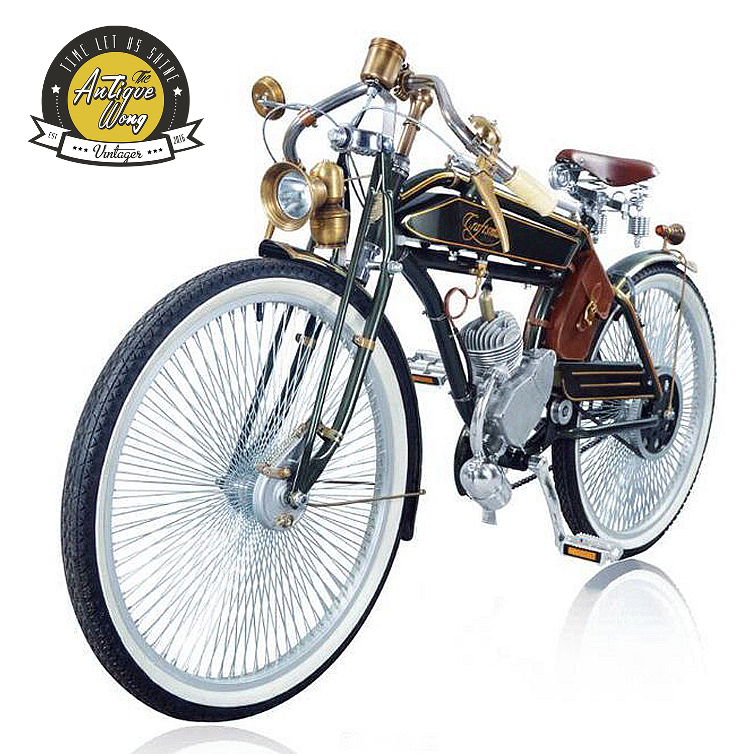 1924 craftsman 26inch Vintage  fuel bicycle Retro booster fuel bicycle / electric Power bicycle Bicycle Accessories