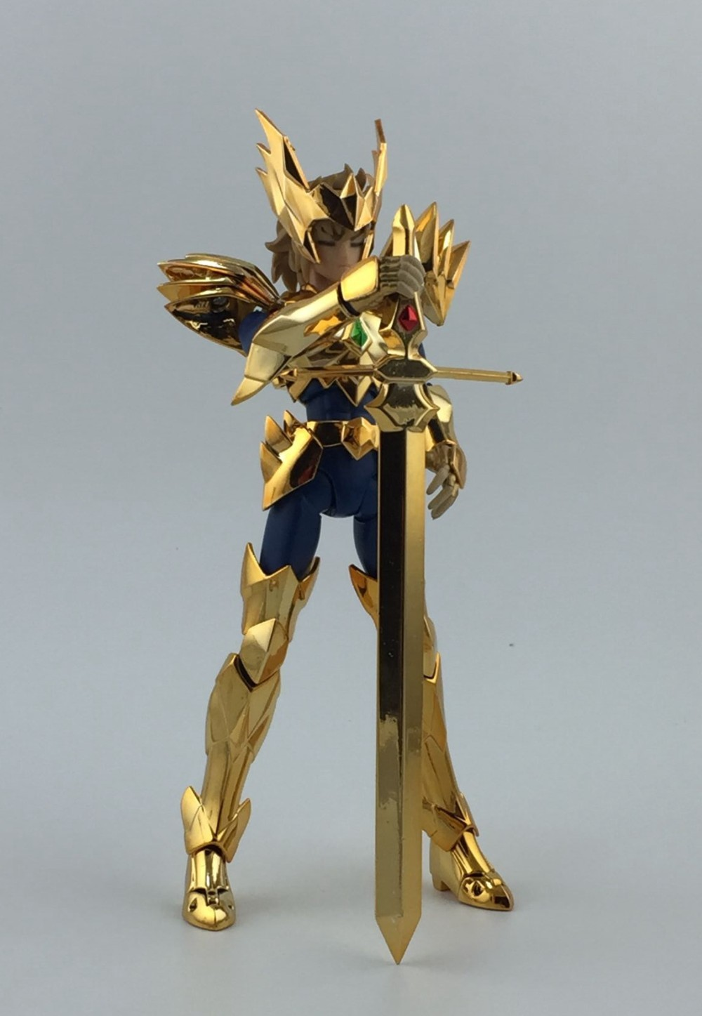 Figurine Saint Seiya Myth Cloth Odin Aiolia God Robe