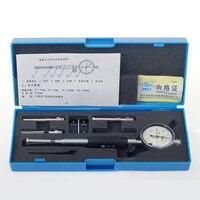 Precision Tool 0.01mm Dial Test Indicator Inner Diameter Dial Indicator Metalworking 6-10mm--0-3mm Dial Gauge Micrometer Measur