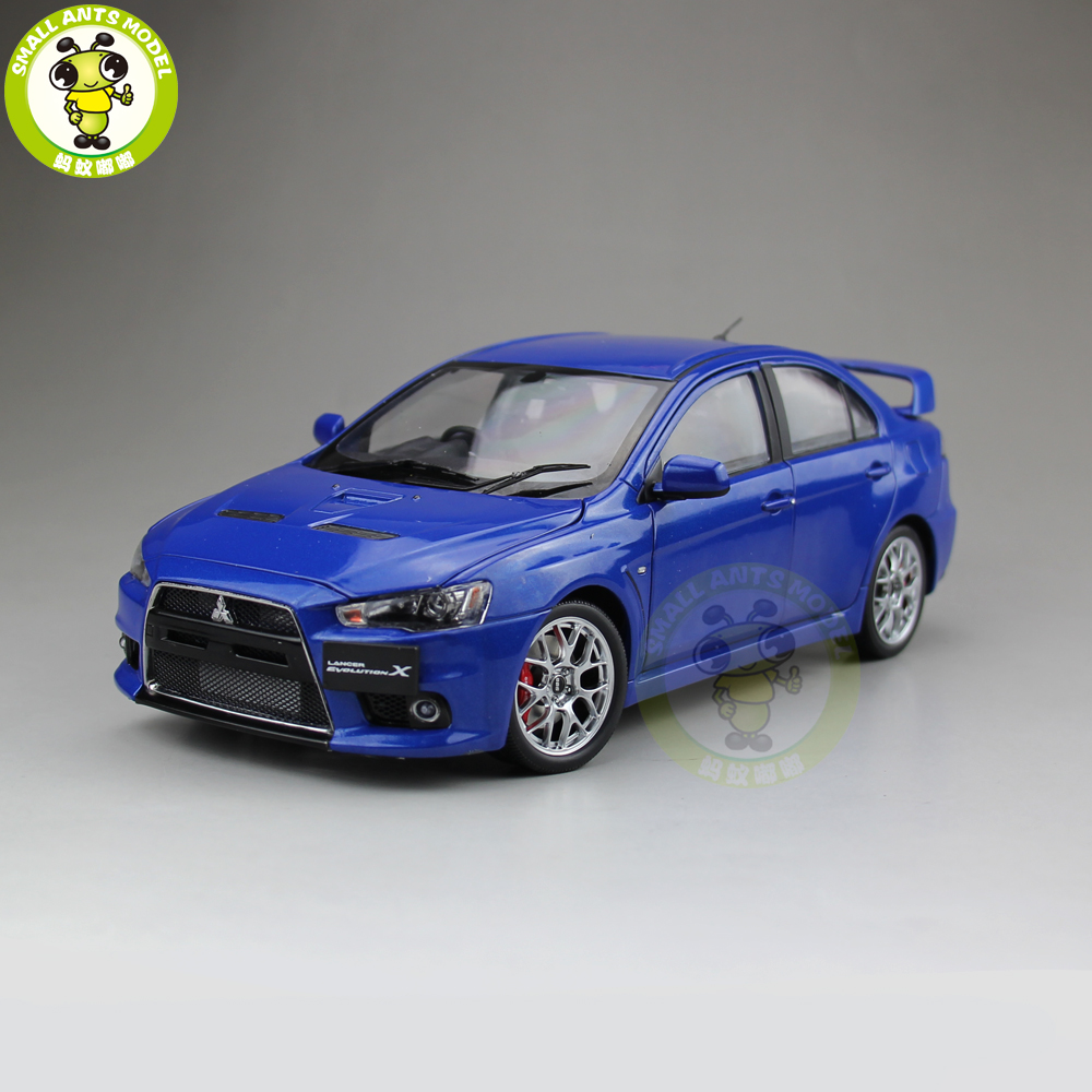 1/18 Mitsubishi Lancer EVO-X EVO X 10 Right Steering Wheel Diecast Metal Car Model Toy Boy Girl Gift Collection Blue радар детектор inspector rd u5 v st