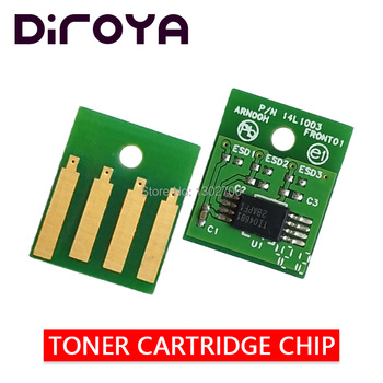 50F1H00 501H Toner Cartridge chip for lexmark MS310dn MS310 MS410 MS510 MS610dn MS 610dtn 610de 610dte powder refill reset 5K NA