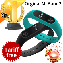 Promotion! Original Xiaomi Mi Band 2 Miband Band2 Wristband Bracelet with Smart Heart Rate Fitness Tracker Touchpad OLED Strap(China)