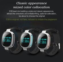 E08สมาร์ทสร้อยข้อมือHeart Rate Monitorอัจฉริยะกีฬาสายรัดข้อมือข้อมือวงนาฬิกากันน้ำบลูทูธ4.0สำหรับiOS A Ndroid