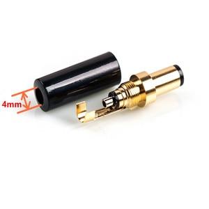Image 5 - Vergulde Dc Plug 5.5*2.5 5.5*2.1 4.0*1.7 3.5*1.3 Voor Dac Tv Box versterker Voedingskabel G50