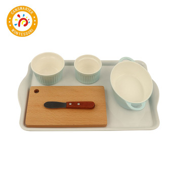 Montessori Material Smearing Jam Bread Tools Mini Toys Daily Work Toys Teaching Aids фото