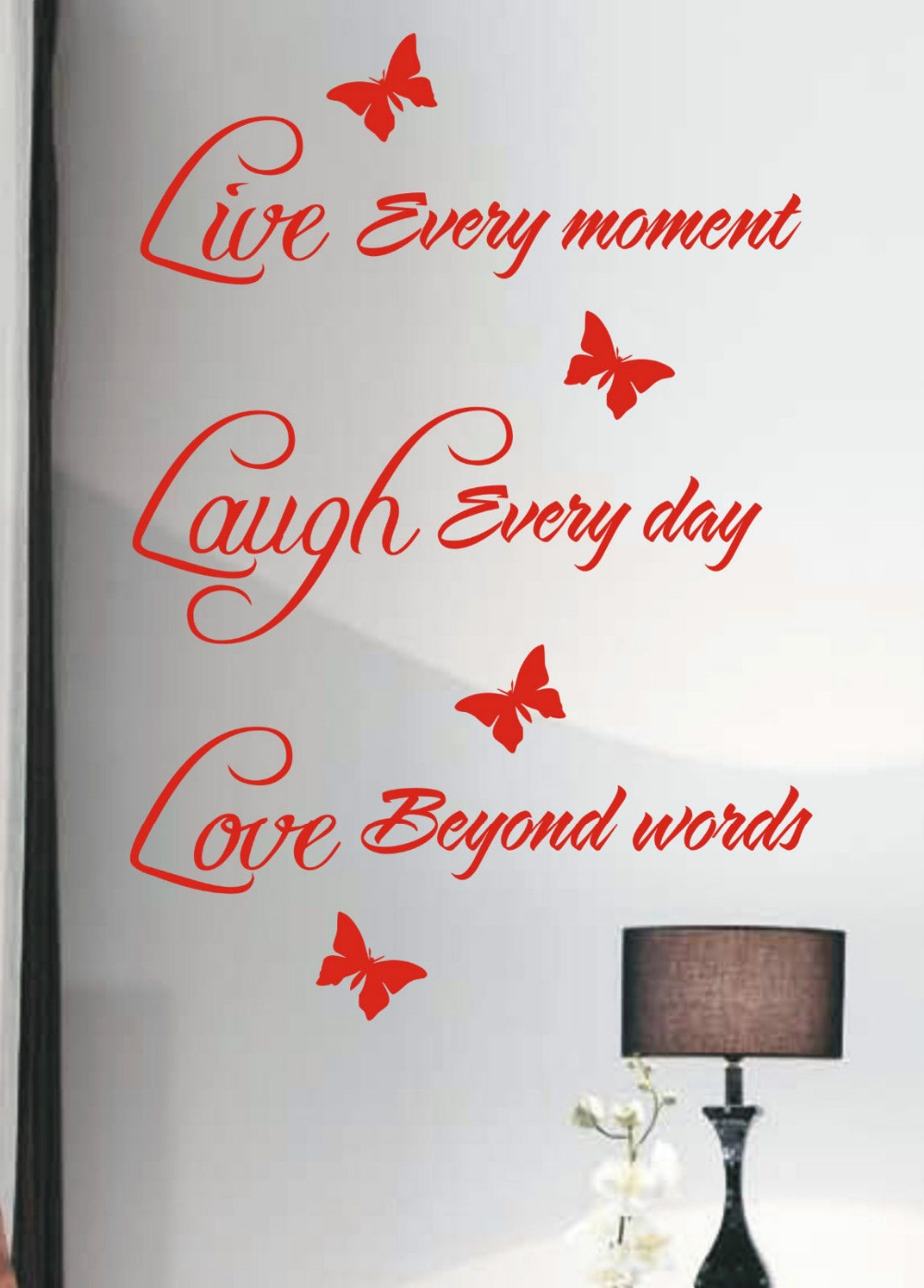 Live Laugh Love Wall Sticker Quote Vinyl Wall Art Home
