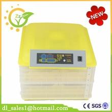 Автоматическое Курица, Утка Яйцо Инкубатор Цифровой Инкубатор Штриховки 96 Яйца ЕС Plug