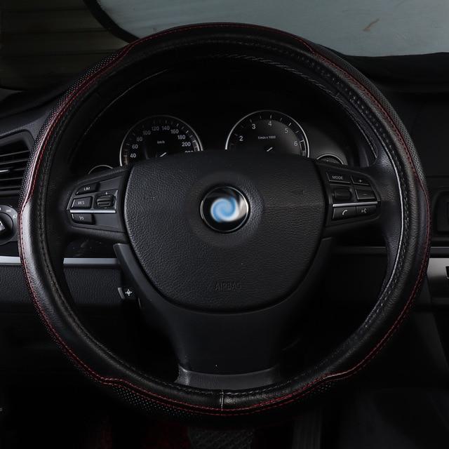 Couverture de volant de voiture en cuir véritable accessoires Pour BMW X4 F26 X5 E70 F15 e53 X6 E71 E72 F16 brillance faw v5