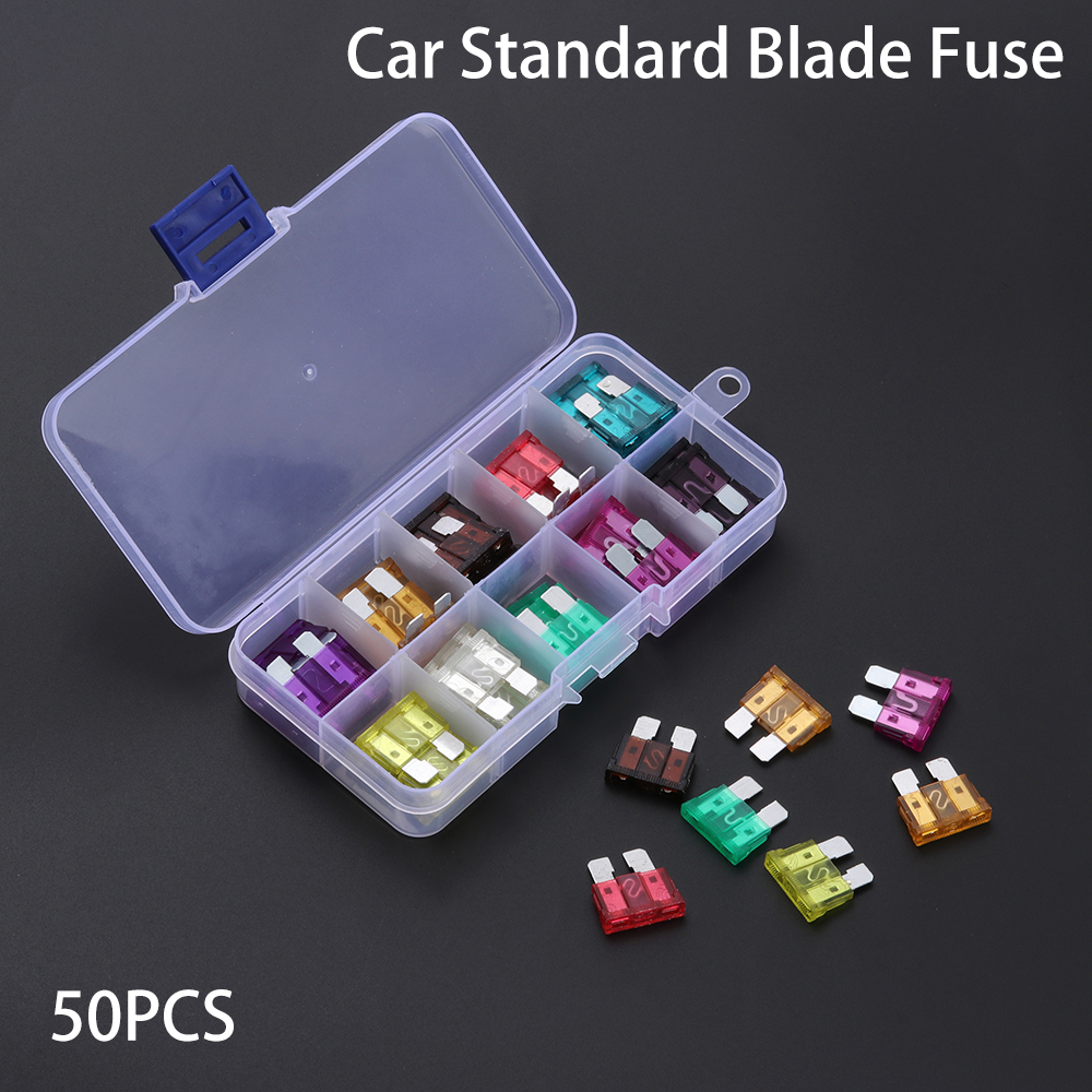 New inline standard Blade fuse holder /& x5 standard fuses car motorbike 25A Fuse