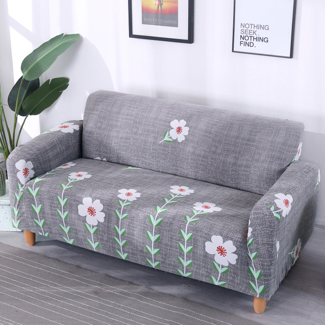 US $17.9 30% OFF|1/2/3/4 seater universal sofa cover stretch seater covers  Couch cover love seat sofa Furniture Double Three Sectional bench-in Sofa  ...