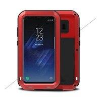 TÌNH YÊU MEI cho Galaxy S 8 + Điện Thoại Trường Hợp Mạnh Mẽ Chống Sốc Drop-proof chống Bụi Phone Bìa cho Samsung Galaxy S8 Cộng Với G955 bìa