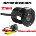 Factory price Rear view camera car reversing probe drilling 22.5MM HD night vision waterproof camera 170 degree wide angle