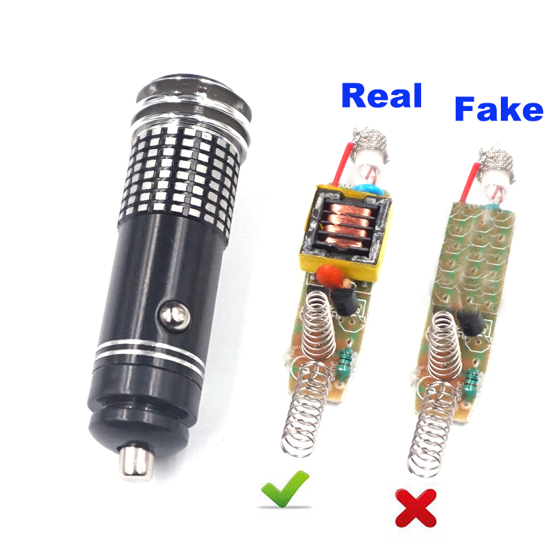12V Real Mini Car Anion Oxygen Bar Ozone Ionizer Air Purifier Cleaner Fresher Car Car Air