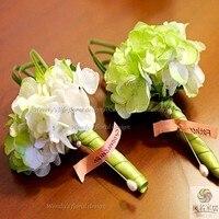 Flor Artificial flor de la boda ramillete guelder