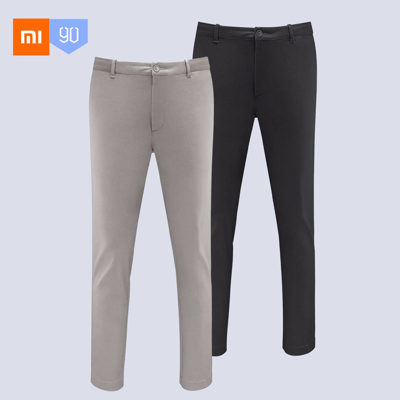 New Xiaomi MIjia Youpin 90 point Urban casual pants men Mid waist style straight legs micro