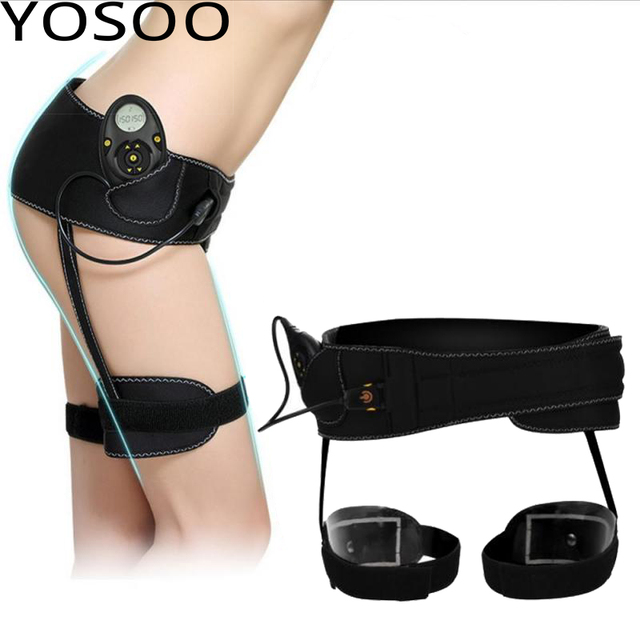 275081815b Supports Belt Slimming Products Massager Intensity Rechargeable EMS Toning  Slim Belt Braces Bottom Toner Firm Hips Legs Lifting