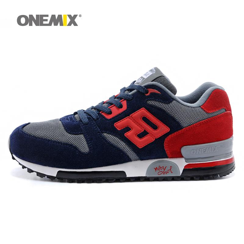 Prix pour Usine ventes en daim rétro lente de course sport hommes chaussures d'origine sneakers respirant hommes et femmes athletic chaussures drop shipping 1059
