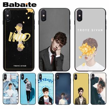 Babaite Troye Sivan Attractive Phone Accessories Case For iphone 8 8plus and 7 7plus 6s 6s Plus 6 6plus 5s Cellphones image