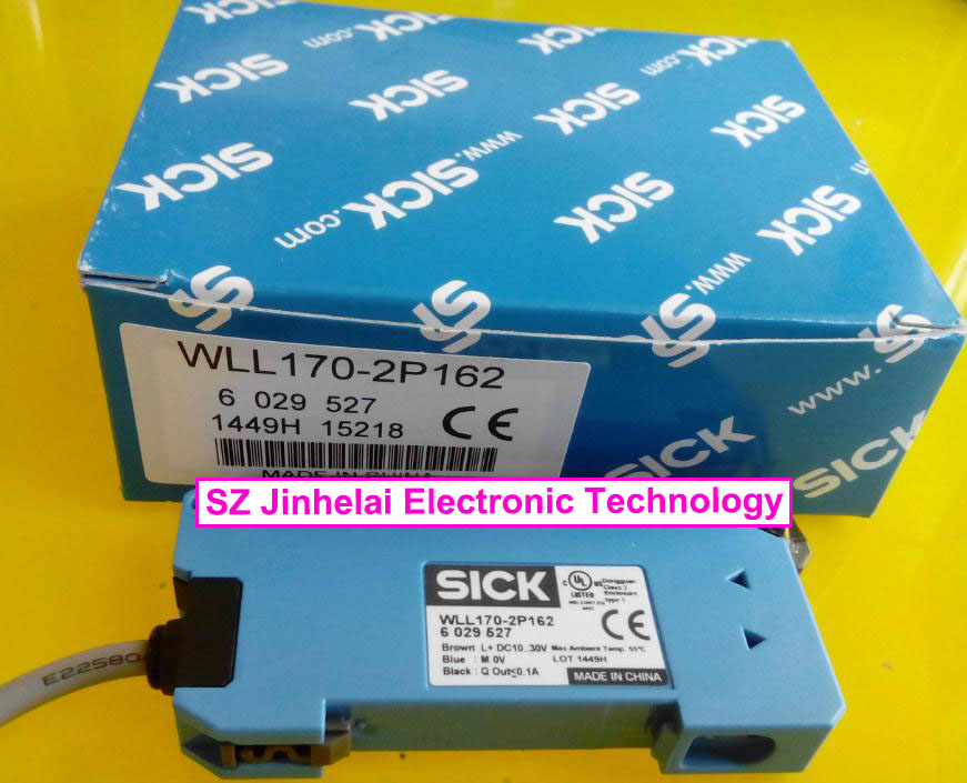 WLL170-2P162, WLL170-2N162  New and original  SICK  Optical fiber amplifier wll180t n432 wll180t l432 new and original sick photoelectric switch optical fiber amplifier