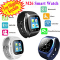 Rwatch M26 Relógio Inteligente Bluetooth Smartwatch M26 com Display LED Music Player Pedômetro Barómetro para IOS Android Telefone Móvel