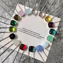 2019 designer mais popular marca doce cor pedante colar feminino luxo rosa ouro 585 prata cor jóias misturar seu próprio estilo