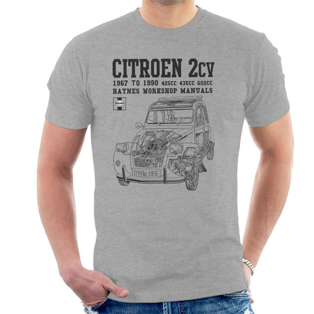 f2cfa07886 France Classic Car Citroen 2Cv New Brand-Clothing T Shirts Hip-Hop Simple  Splicing Tee Tops Shirt 3D Printed T Shirts