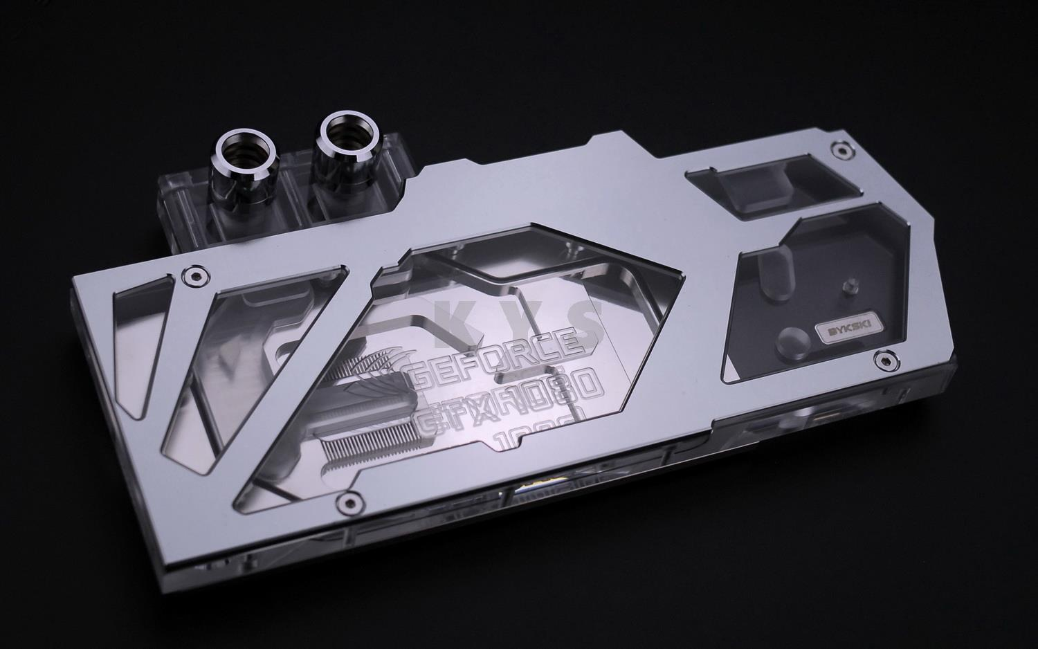 Bykski FOUR Serial GPU Water Cooling Block for Founders GTX 1080 FR-N-GTX1080 with Backplate cpu cooling conductonaut 1g second liquid metal grease gpu coling reduce the temperature by 20 degrees centigrade